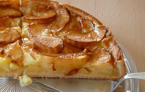 koolhydraatarme appeltaart maken
