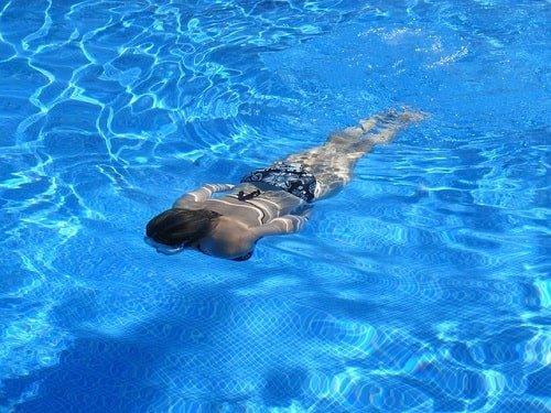 afvallen door zwemmen