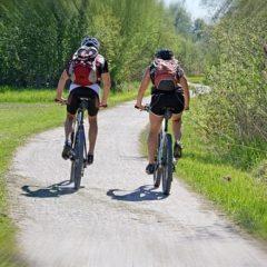 welke spieren train je met fietsen